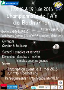 championnat de l'ain 2016