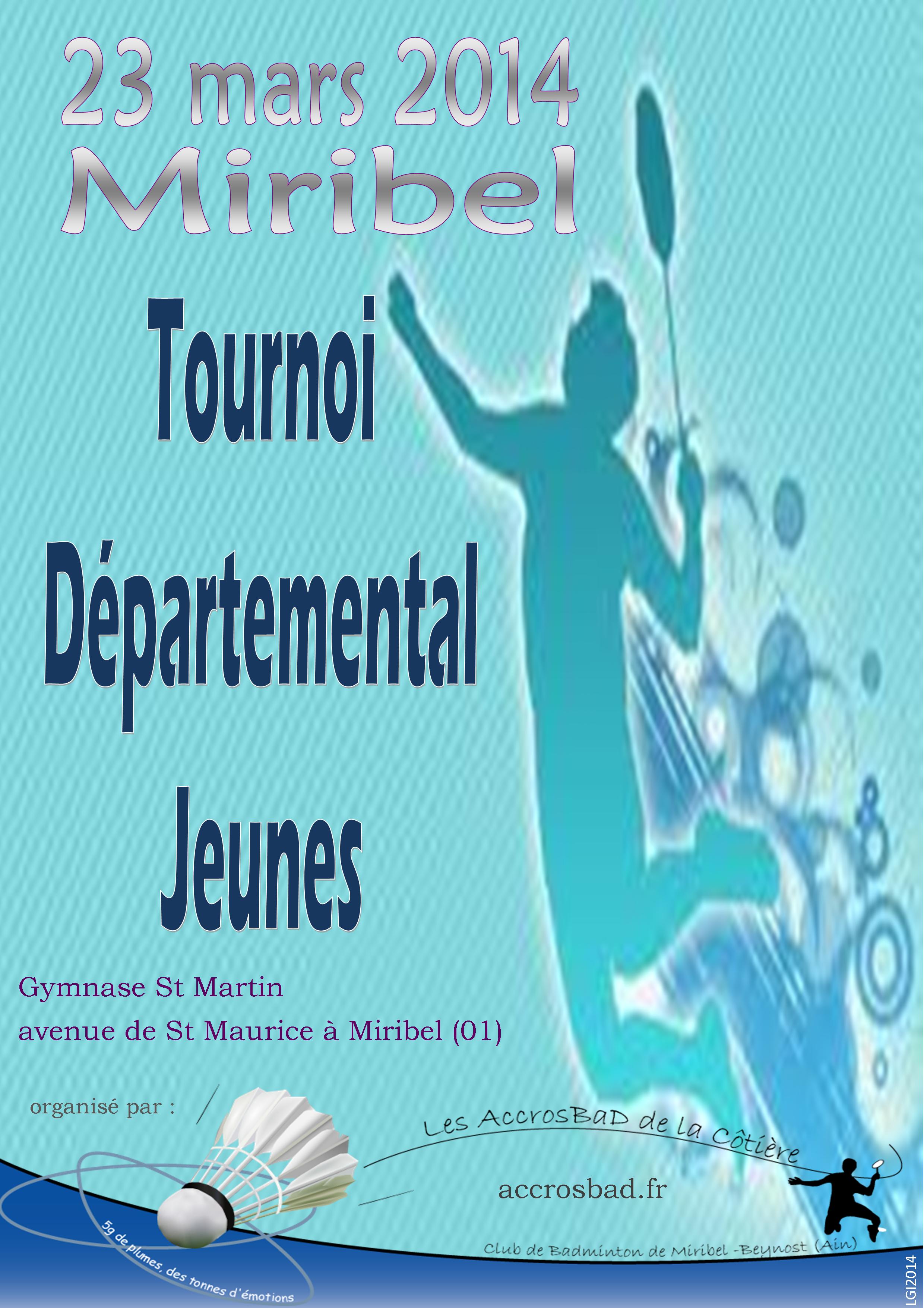Affiche TDJ 7 Miribel 2014