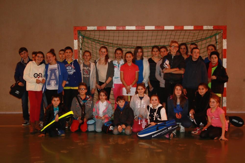 Les 29 joueurs de la RDJ à Chatillon !!