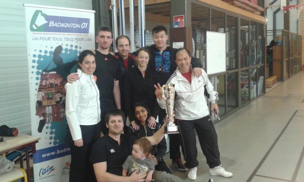 Les Interclubs Départementaux Séniors sont remportés par l'équipe de Prévessin 1 !! Félicitations à eux et bonne chance pour les barrages pour monter en Régionale 3 (3 mai) !!